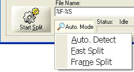 MP3 Splitter - Split with Different Split Mode